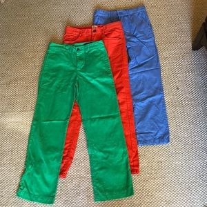 3 pair of boys pants